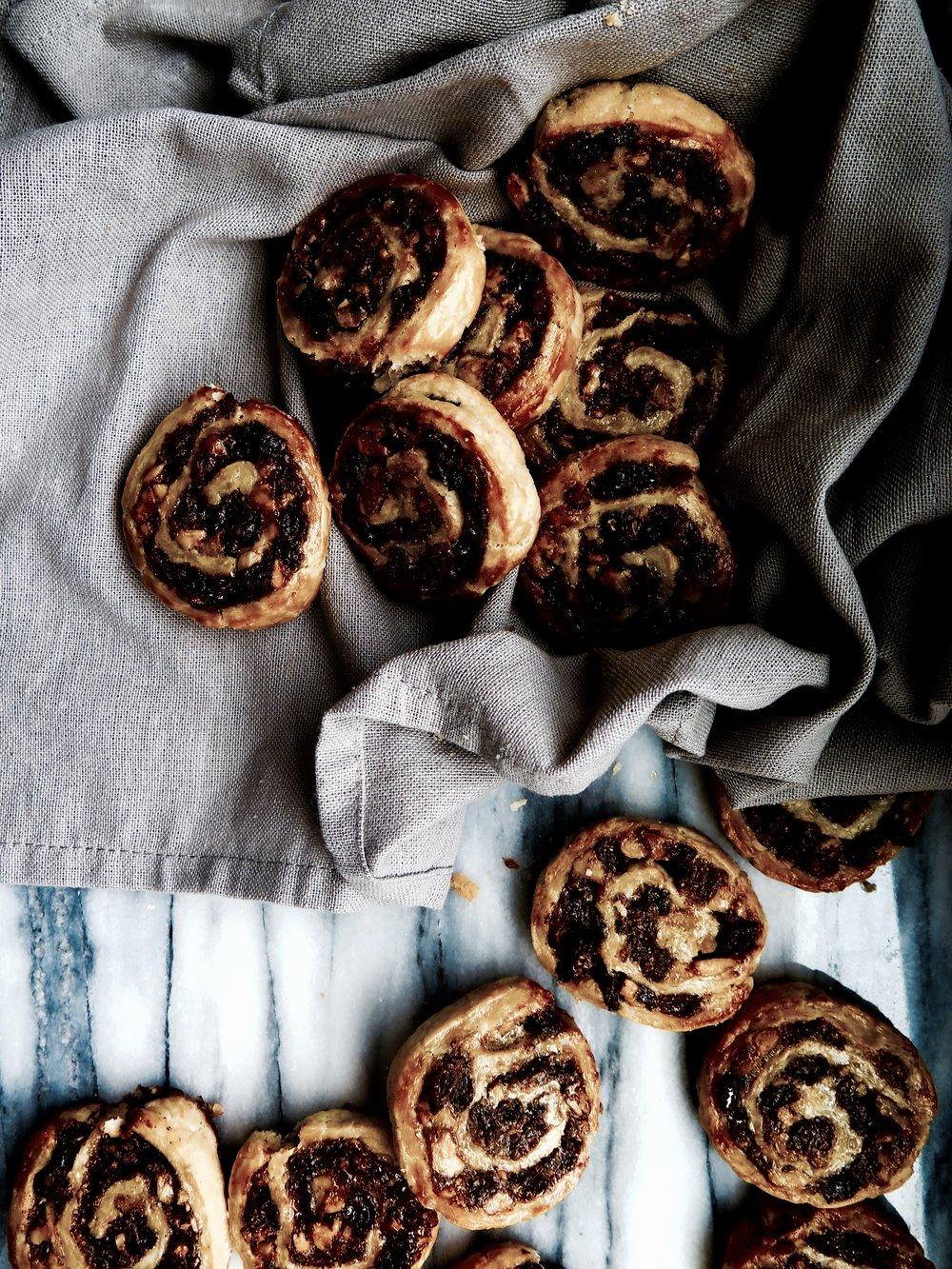 Cinnamon, Sultana & Apricot Swirl Cookies