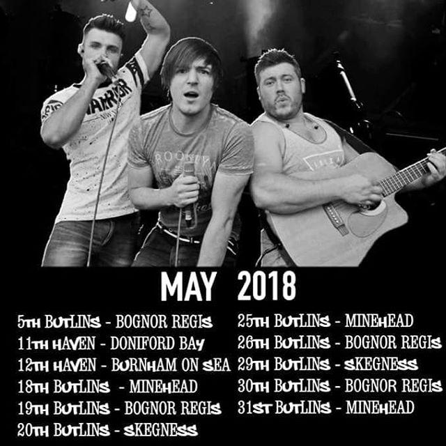 MAY DATES!!! #TripleThreat_UK #beatbox #love #men