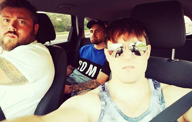 The happiest boys in the business #AlwaysSmiling #TripleThreat_UK #VestOrDie #virgins
