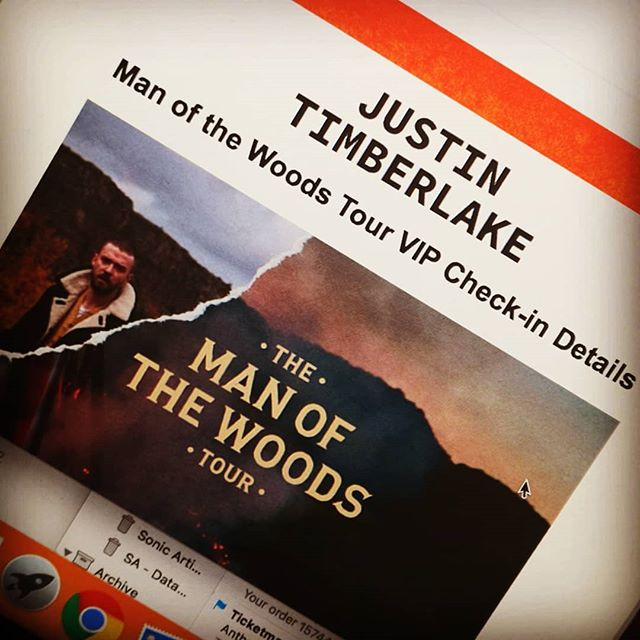 We do get to do some cool things every now and then... JUSTIN TIMBERLAKE BABY!!! Let's go.. - AJ x  STORY UPDATES ALL NIGHT!!! #justintimberlake #jt #manofthewoods #mofw #Birmingham #VIP #TripleThreat_UK #filthy
