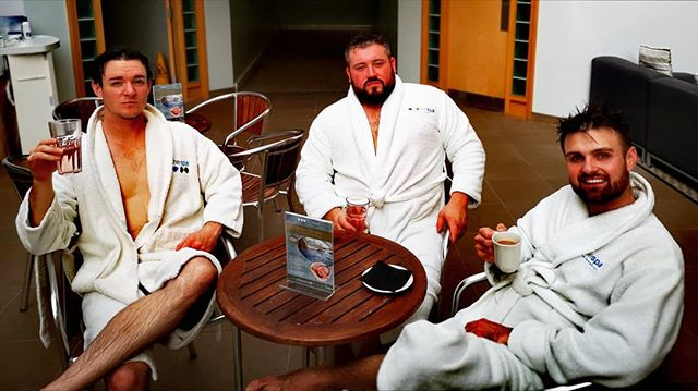 Find me a band with more gangsta etiquette. They don't exist.  #spa #spaday #virgins #beauty #butlins #musiclifestyle #musiciansofinstagram #mcgregorofthemusicworld #lovers
