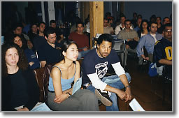 The first Independent Short Film Screening, 2003