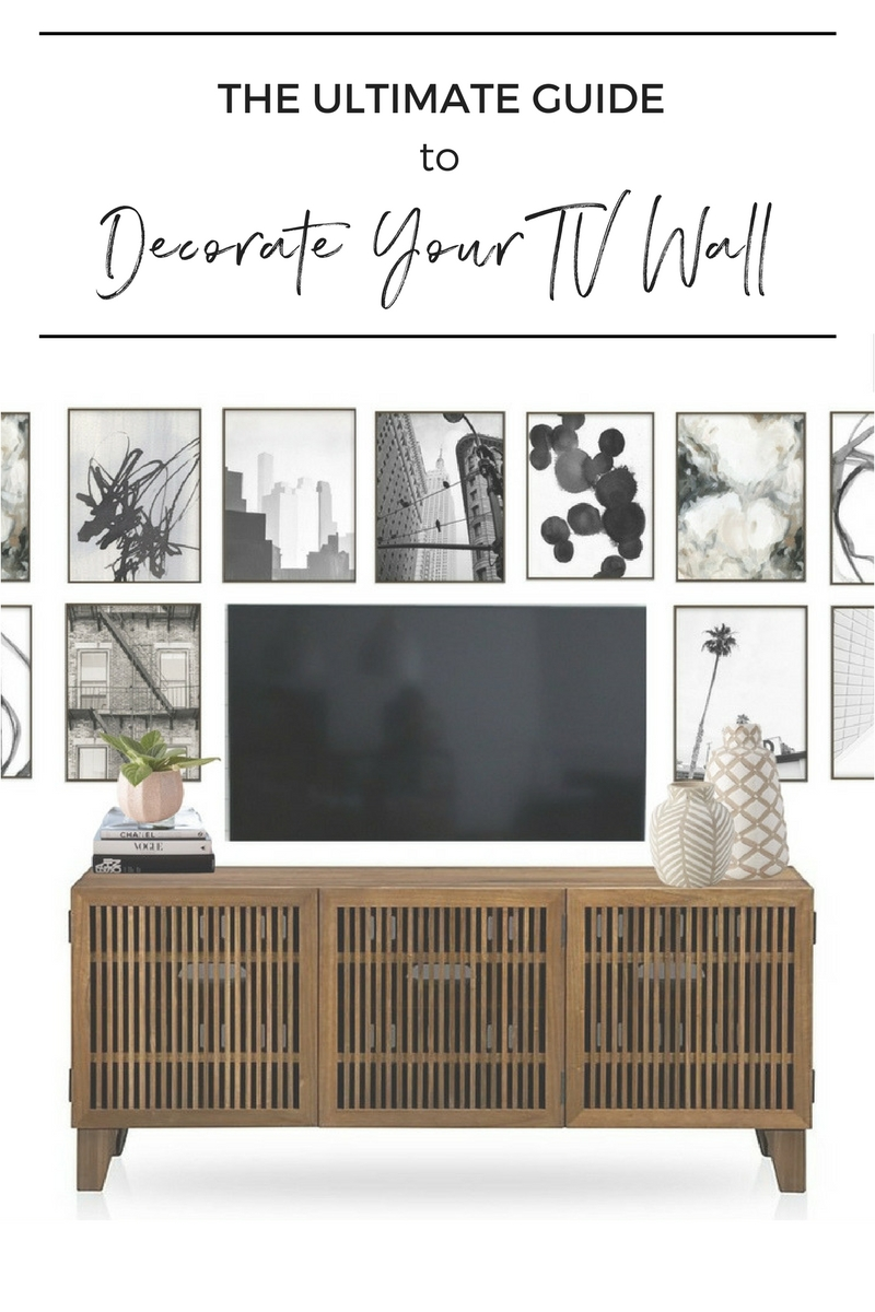 The Ultimate Guide To Decorating a TV Wall — Jessica Devlin ...