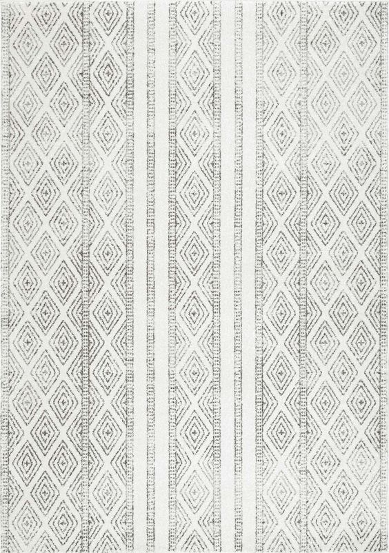Yaaasssss! this is such a stunning neutral rug. Adding just the right amount of pattern!