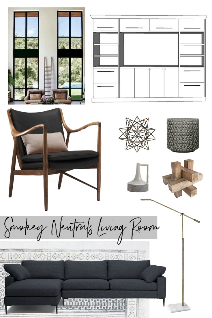Smokey Neutrals Living Room