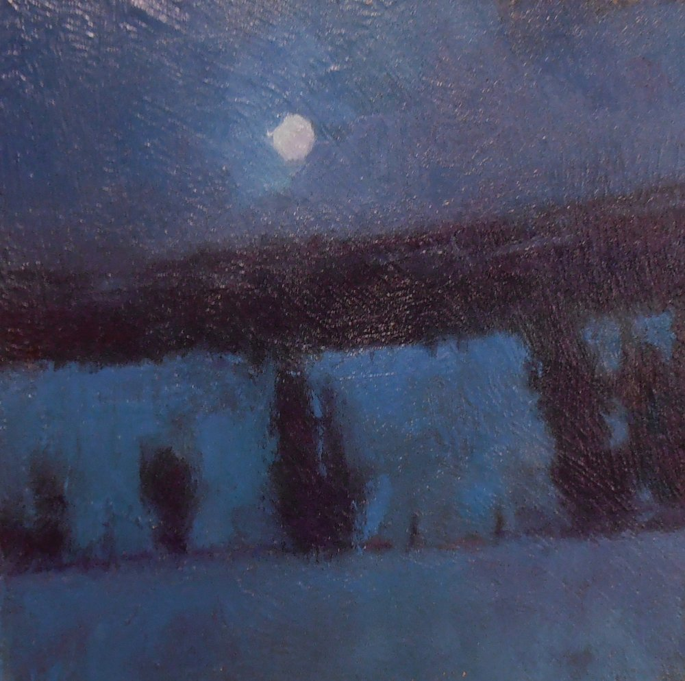 'Moon Over Union Farm'(Sold)