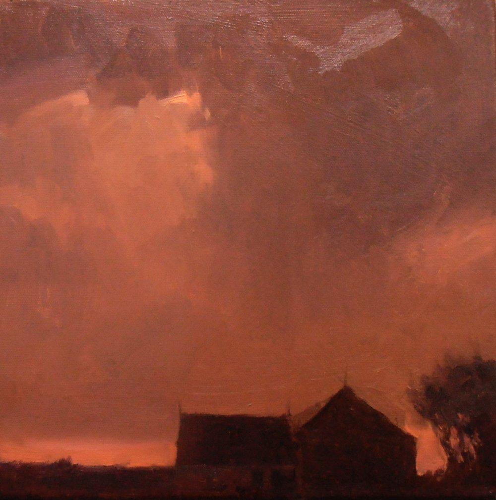 'Breaking Over Bell's Barn' (Sold)