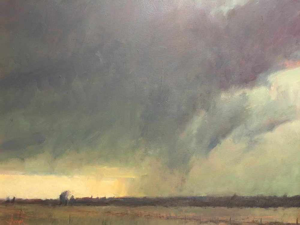 'Clearing Up -Perth County'  (Ontario)