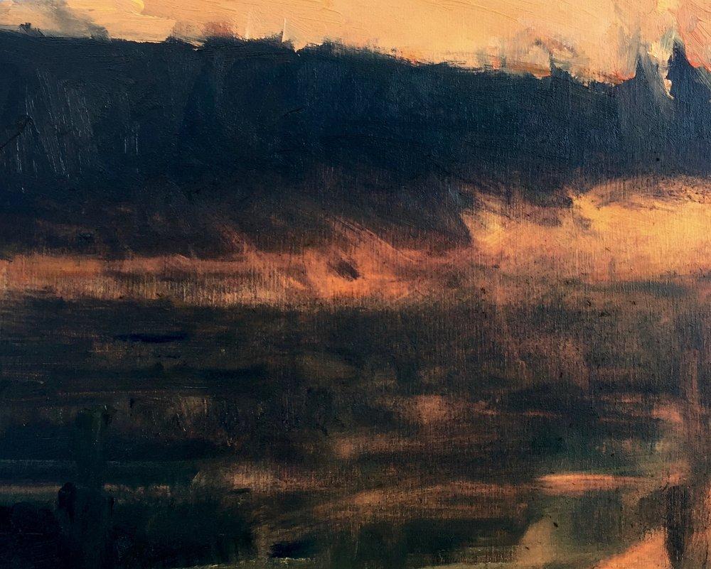 'Dawn Mist - Shakespeare Pond'  (Ontario)