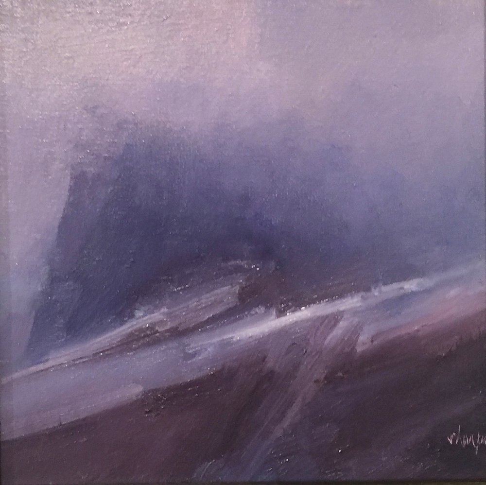 'Low Cloud in High Pass'(Sold)