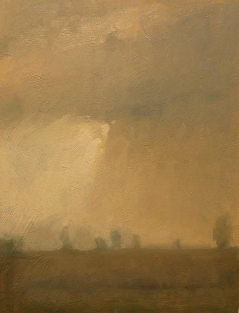 'Fog At Dawn-Perth County'(Sold)