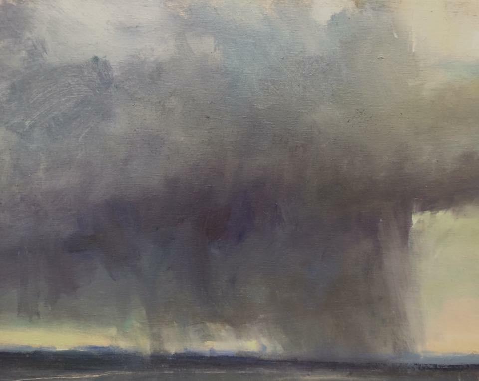 'Rain Over The Rockies'