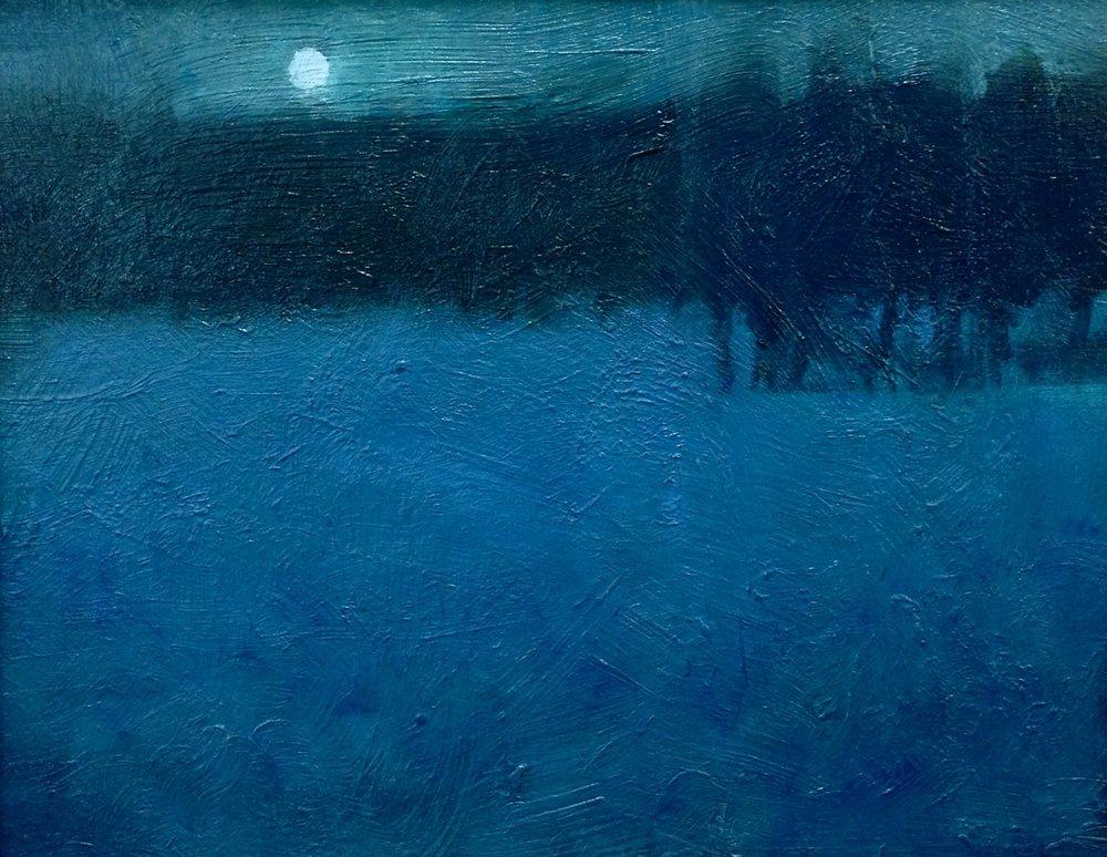 'Winter Moon-Algonquin' (Sold)