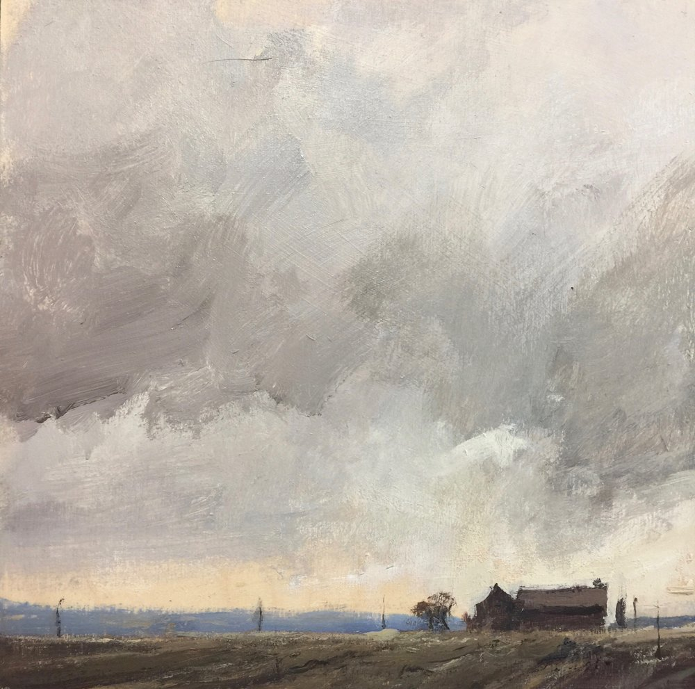 'Winter Clouds-Perth County' (Sold)