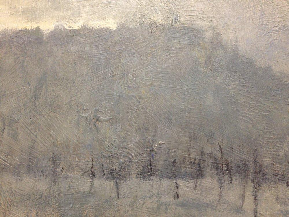 'Snow in a Cedar Swamp-Algonquin'