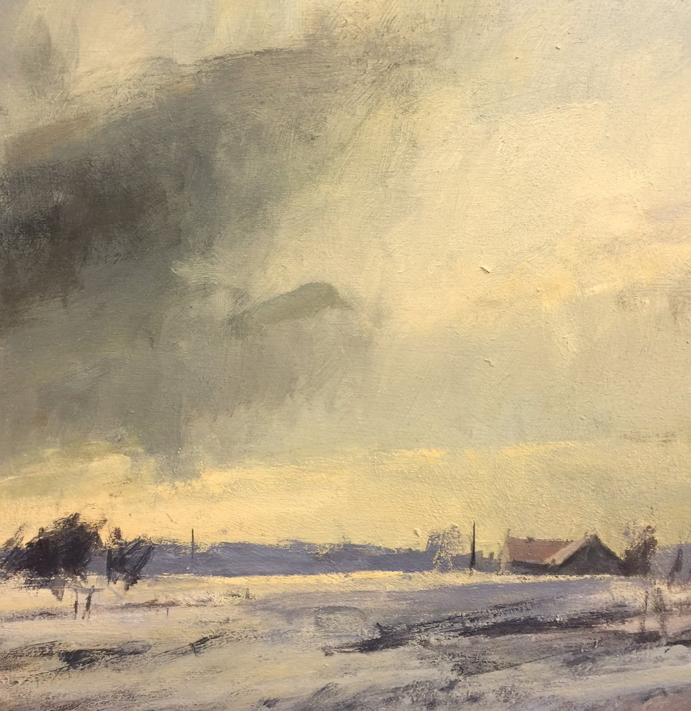 'Winter Afternoon-Perth County'(Available)