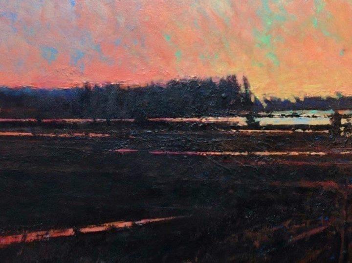 'Rain in the Fields' (Sold)