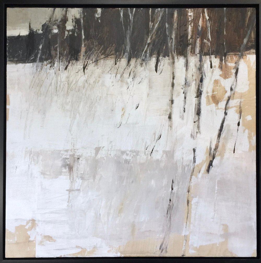 'Birches In Winter' (Sold)