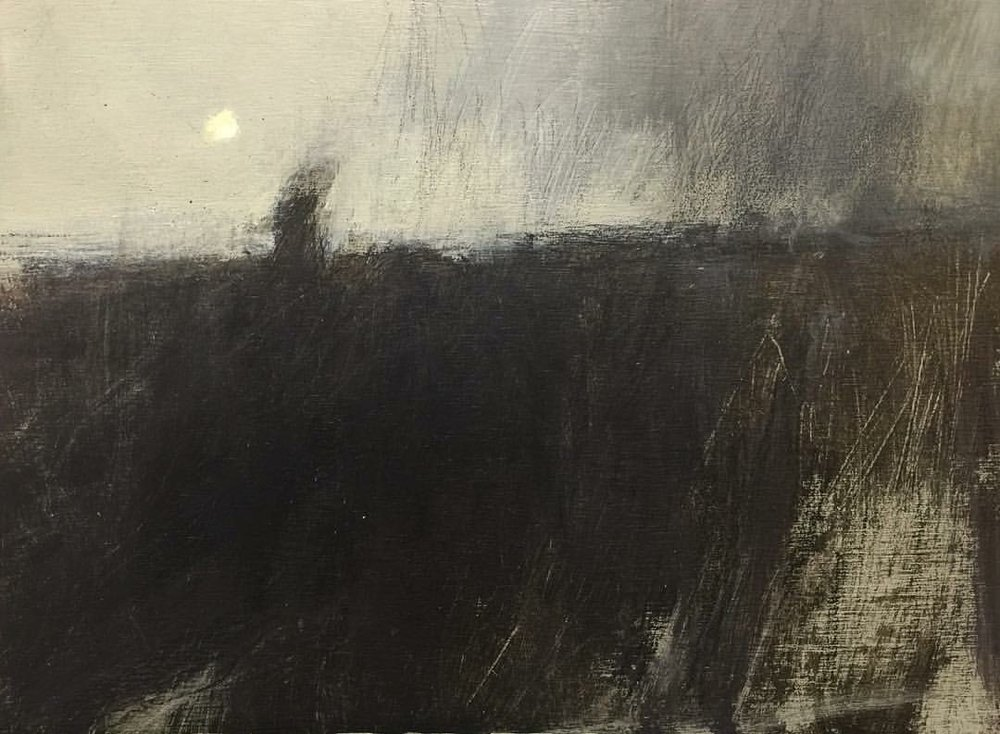 'Gathering Dark' (Sold)