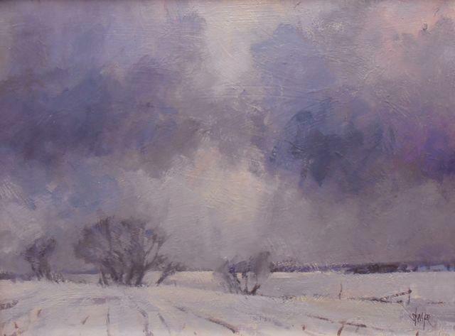 'Winter Clouds-Sideroad 122'