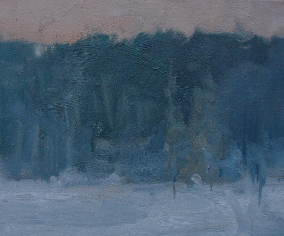 'Frost at Dawn-Algonquin'