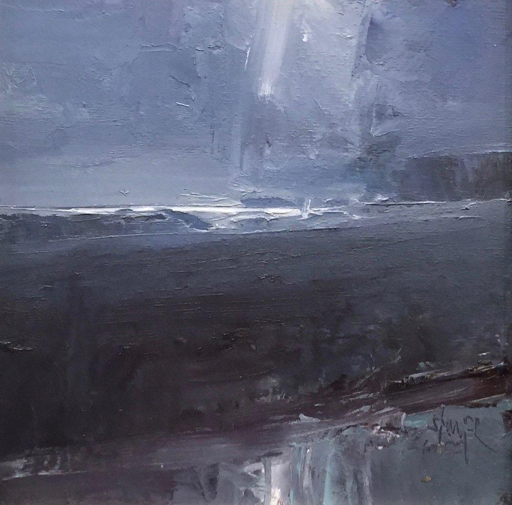 'Tide Pool Moon' (Sold)