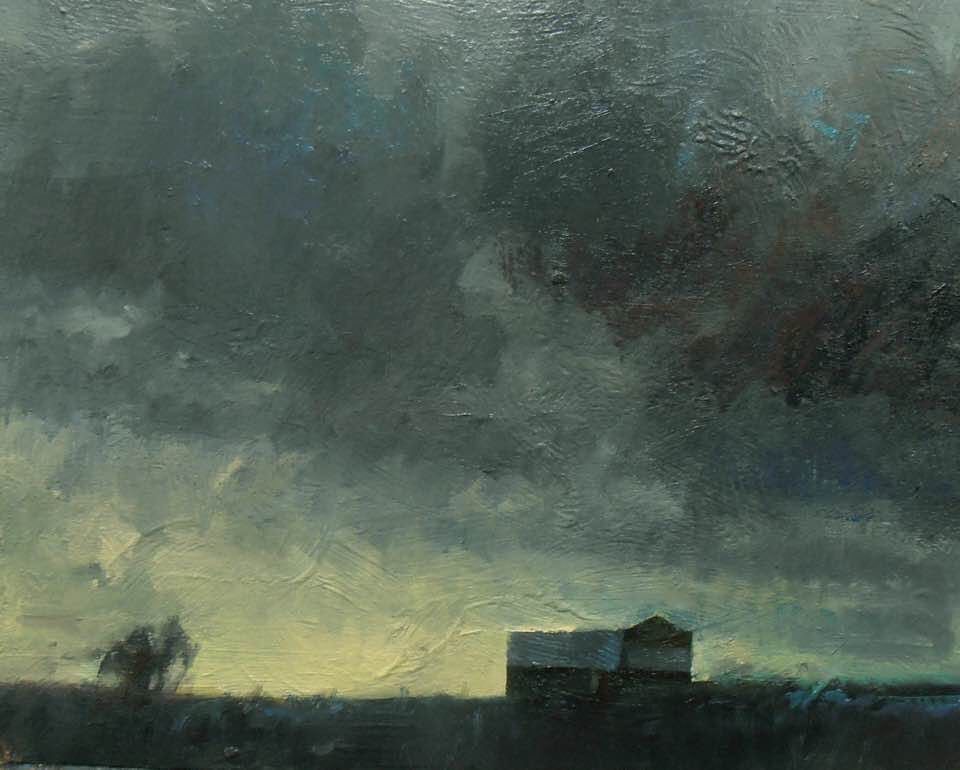 'Clearing Over Bell's Barn' (Sold)