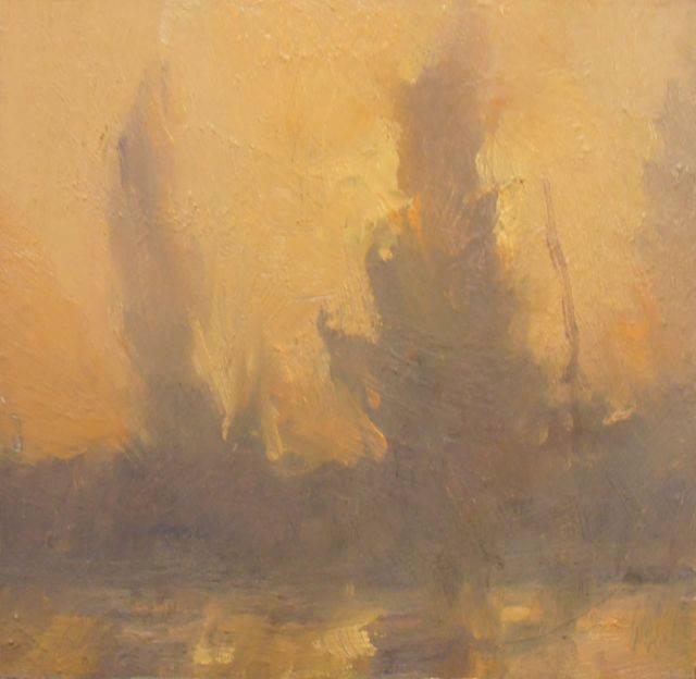 'First Light-Hullett Marsh' (Sold)