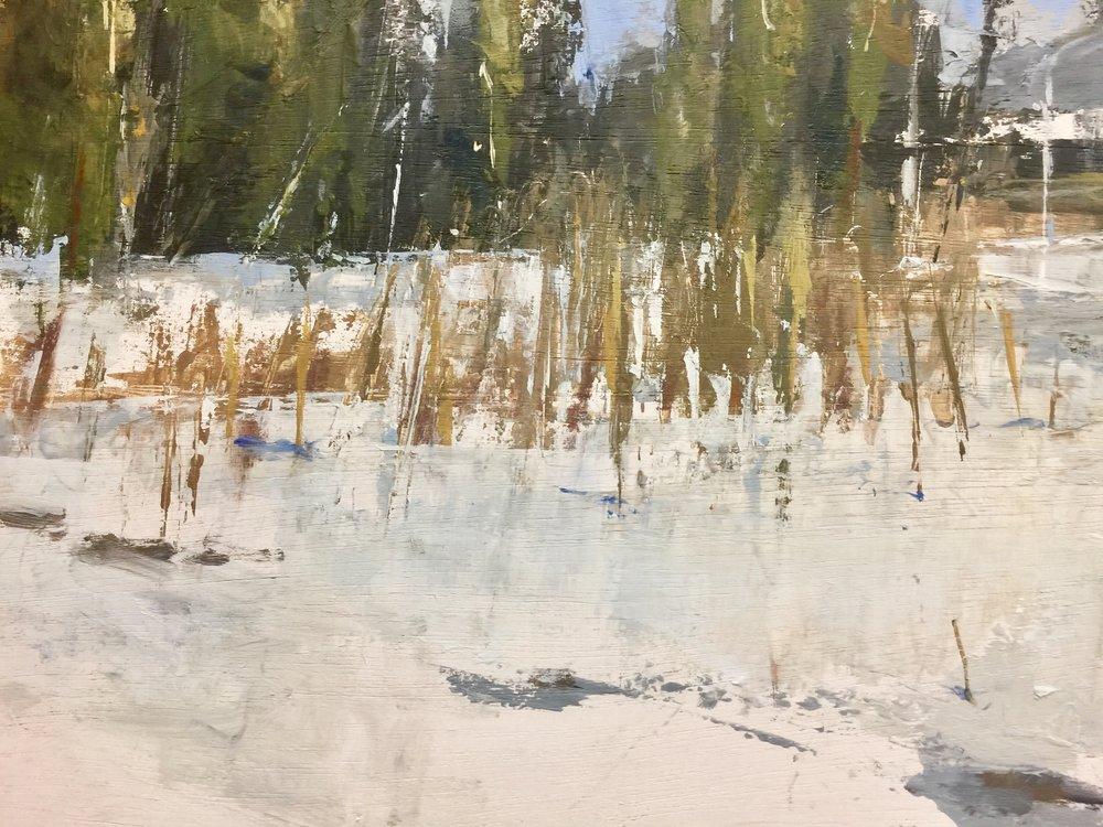 'Winter Grasses' (Sold)