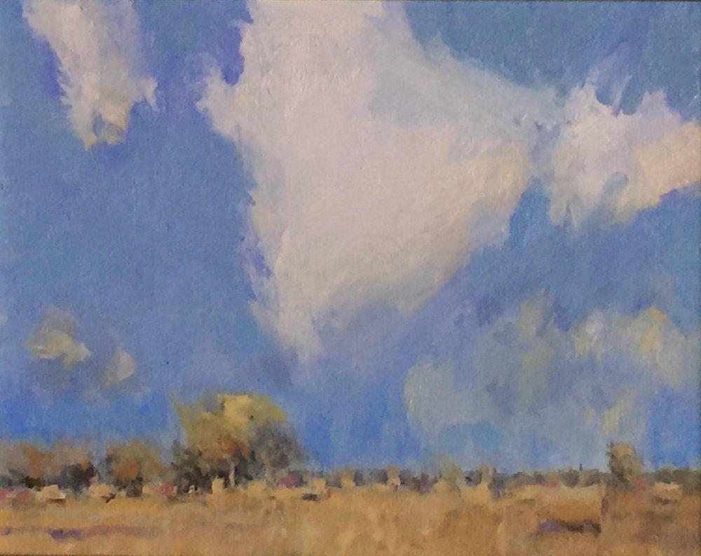 'A Fall Field' - 11x14