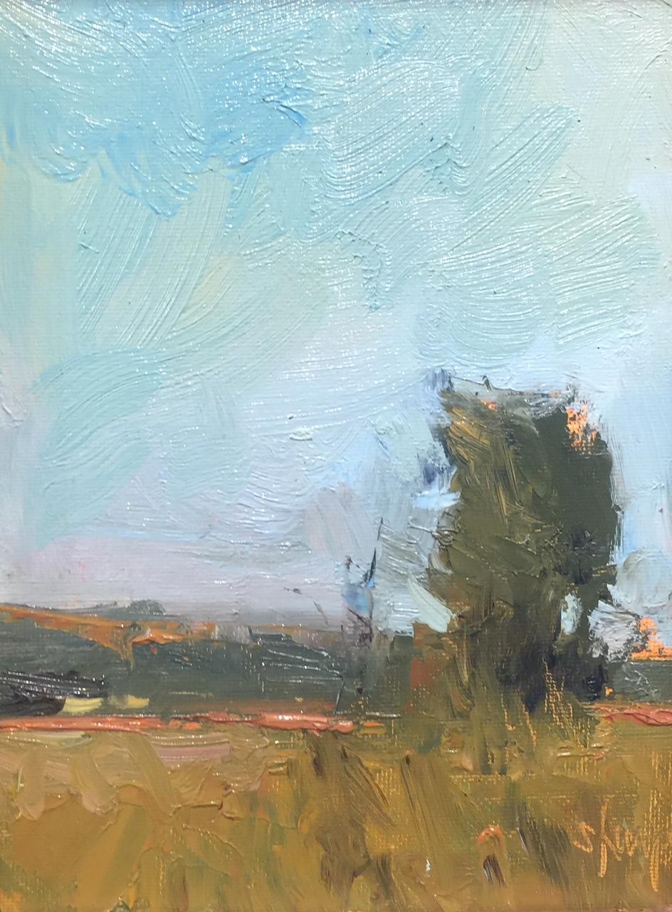 'Summer Field' 8x6