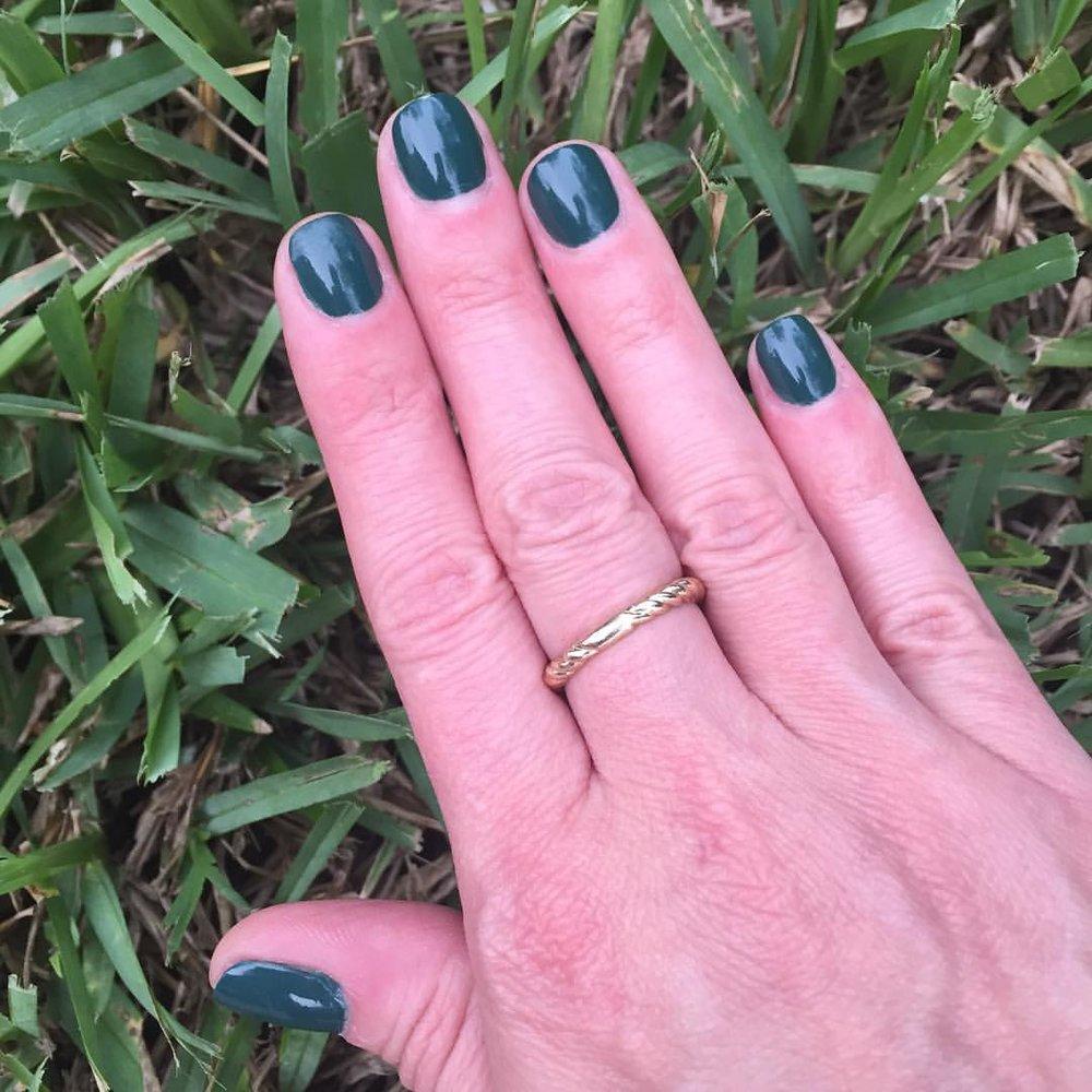 "@opi_products ""Stay Off the Lawn!"" #mani #manicure #nails #coloroftheweek #polish #nailpolish #mysonrequestedgreen #beauty #blogger"
