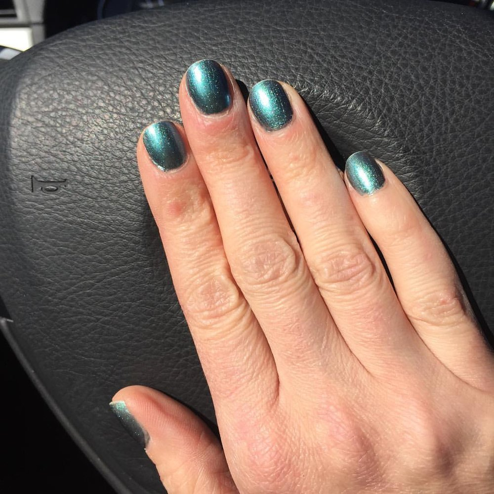 "@opi_products ""This Color's Making Waves"" #nails #manicure #coloroftheweek #nailpolish #polish #beauty"