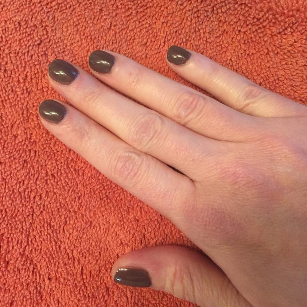 "@tomford ""Brown Sugar"" #manicure #nails #nailpolish #coloroftheweek #polish #beauty"