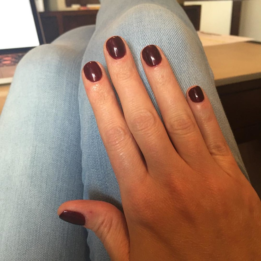 "@chanelofficial ""Vamp""! #manicure #nails #nailpolish #coloroftheweek #polish #chanel #vamp #beauty #makeup"