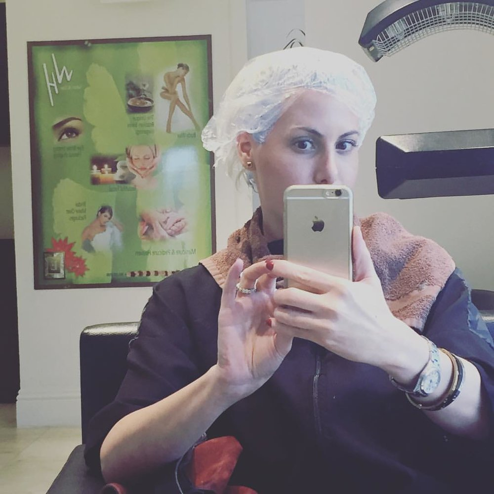 #bts #platinum #blonde #hair #every4weeks @thatsalexhair @olaplex  (at Wild Hare Salon & Spa)