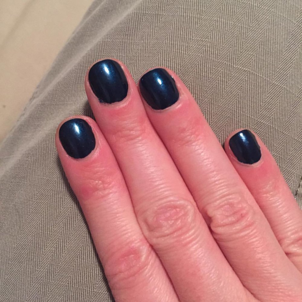 "@essiepolish ""Bell Bottom Blues"" #nails #manicure #coloroftheweek #beauty #fall #nailpolish"