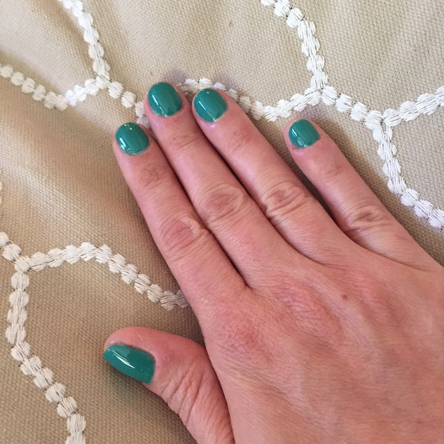 "@essiepolish ""Melody Maker"" #nails #manicure #coloroftheweek #beauty #summer"