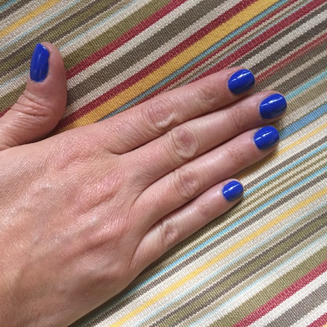 "@chinaglazeofficial ""I Sea the Point"" #manicure #nails #coloroftheweek #beauty #nailpolish"