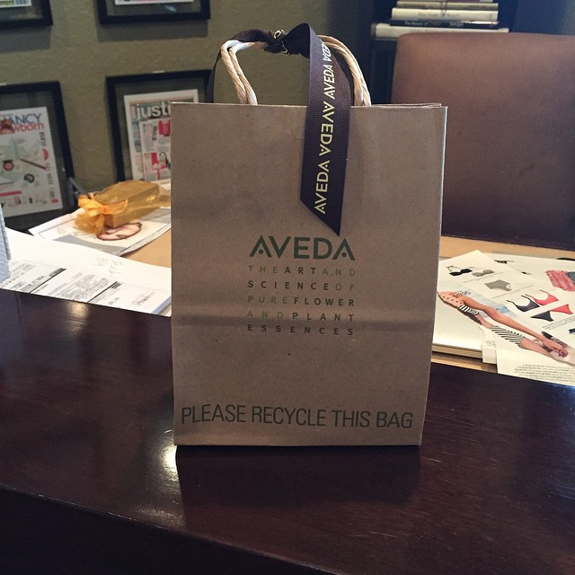 Want to know what's inside this bag? Let's just say @aveda is making #earthday even brighter this year! #candleforacause #lighttheway