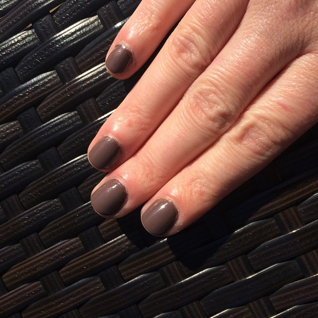 "@tomford ""Black Sugar"" #manicure #nails #coloroftheweek"