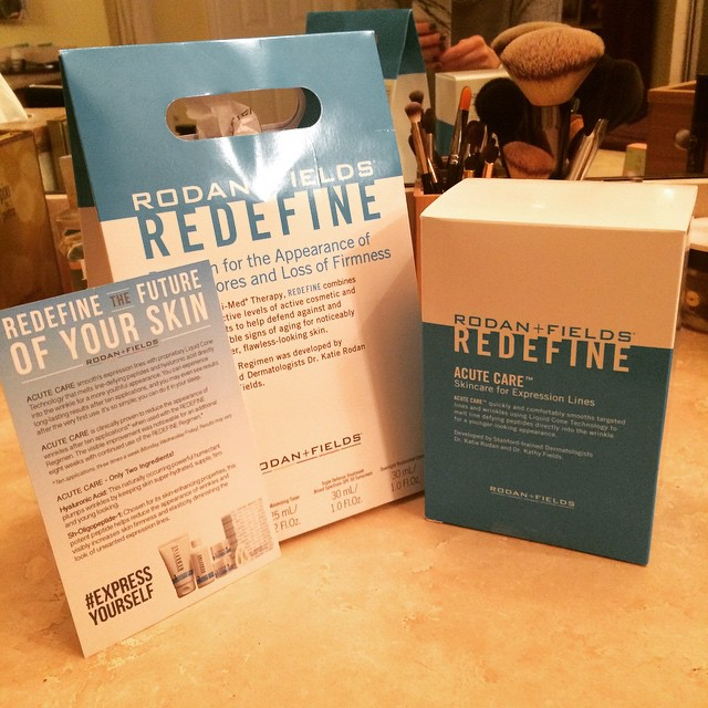 The @rodanfields #redefine #acutecare #expressyourself challenge starts tonight! Stay tuned for the before photo! @ifabbo #skincare