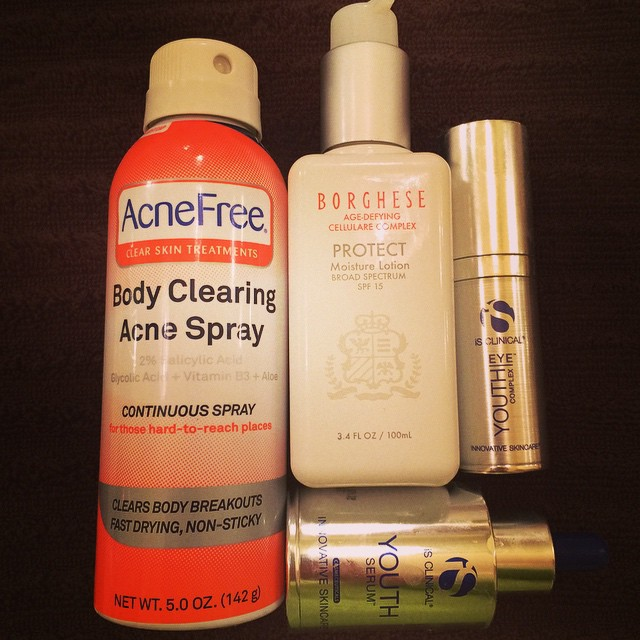 More #empties… What should I pull from the beauty closet next? @innovativeskincare #acnefree (prevention) #borghese