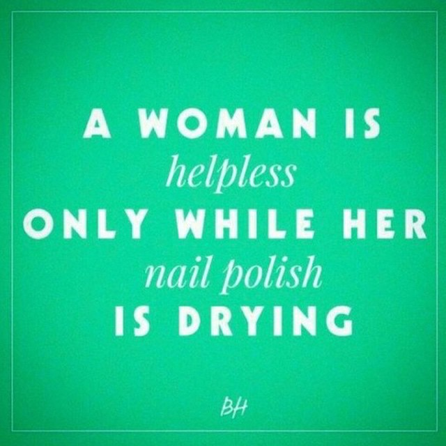 Ain't that the #truth! #manicure #nailpolish #beauty