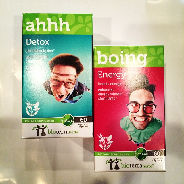 @bioterraherbs knew exactly what I needed this #Monday. Can't wait to try these fun supplements! #health #vitamins #herbs