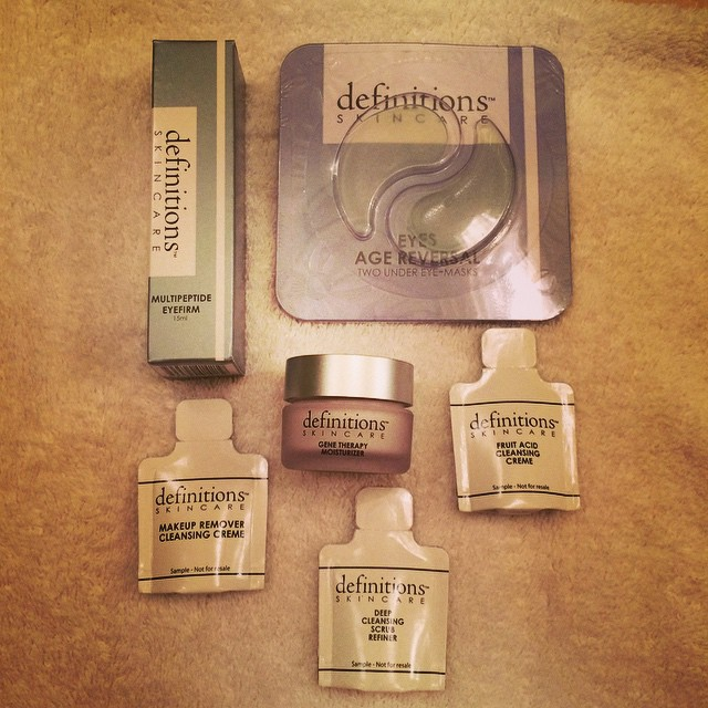 Tonight's homework… #definitionsskincare #producttesting #skincare #beauty