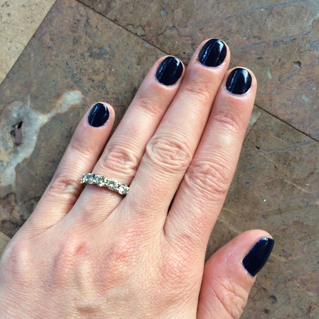 @pixibeauty Imperial Blue. #manicure #manimadness #nails #coloroftheweek #hellofall