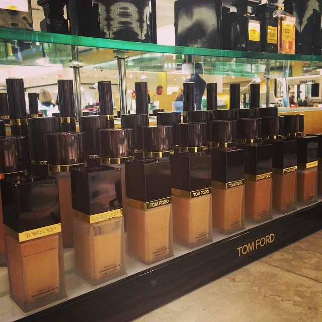 It's a tough job, but… @tomford Fall Beauty event @neimanmarcus #bocaraton #makeup #beauty