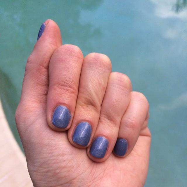 "Rococo ""Jean Jeanie Luxe"" #nails #manicure #coloroftheweek"