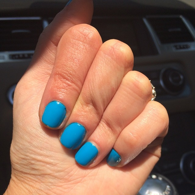 "Essie ""Strut Your Stuff"" #nails #manicure #coloroftheweek #summer"
